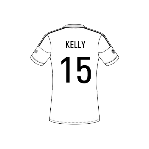 kelly-15 Team Sheet
