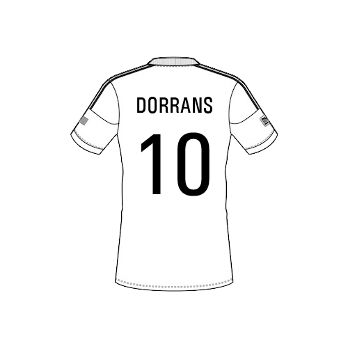dorrans-png-10 Team Sheet