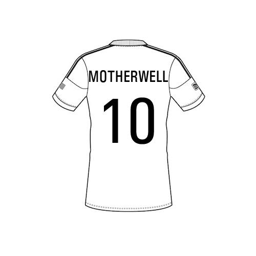 motherwell Team Sheet